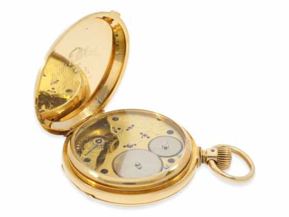 Pocket watch: very early and rare A. Lange & sons pocket watch best quality 1A, delivered to Tiffany New York No. 7688, CA. 1870, with the master excerpt from the book - photo 3