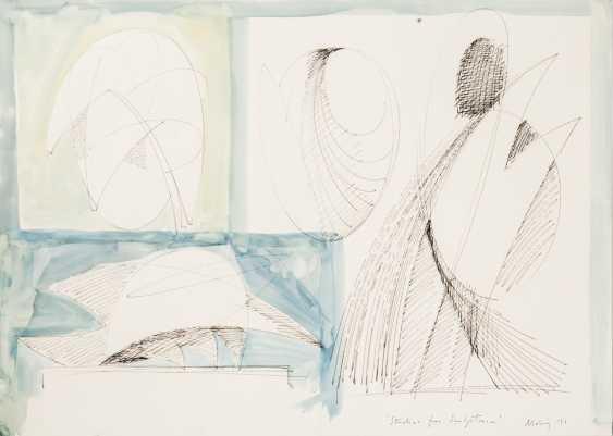 "MOHRING, OTTMAR (Stuttgart, 1935-?, Sculptor and graphic artist), ""Studies for Sculpture"", - photo 1"