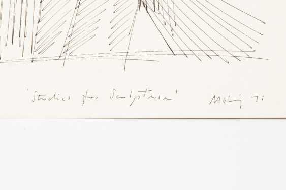 "MOHRING, OTTMAR (Stuttgart, 1935-?, Sculptor and graphic artist), ""Studies for Sculpture"", - photo 2"