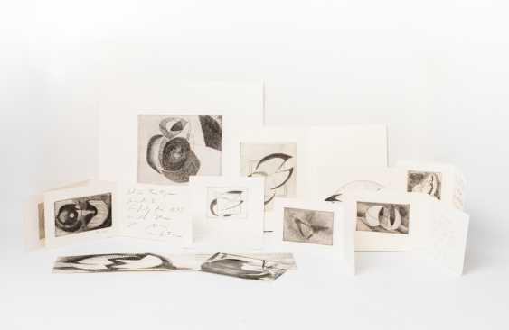 MOHRING, OTTMAR (Stuttgart, 1935-?, Sculptor and graphic artist), 10 etchings, - photo 1