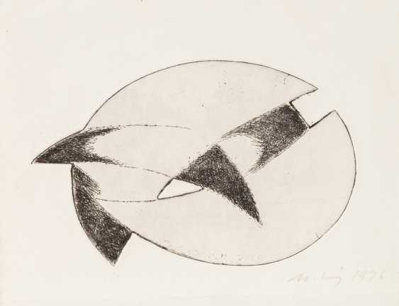 MOHRING, OTTMAR (Stuttgart, 1935-?, Sculptor and graphic artist), 10 etchings, - photo 2