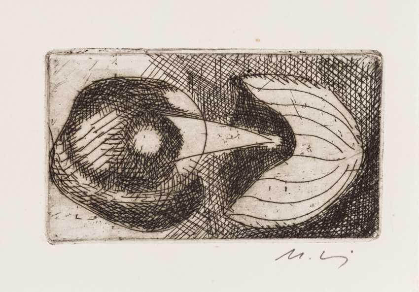 MOHRING, OTTMAR (Stuttgart, 1935-?, Sculptor and graphic artist), 10 etchings, - photo 3