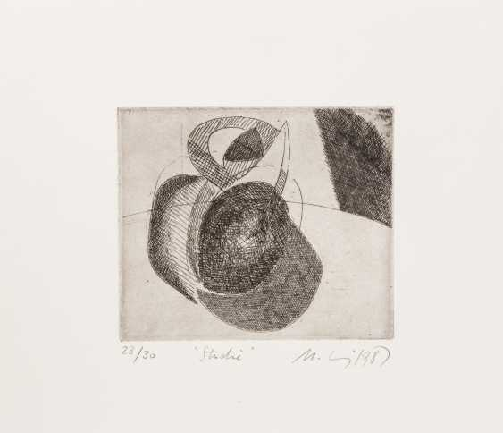 MOHRING, OTTMAR (Stuttgart, 1935-?, Sculptor and graphic artist), 10 etchings, - photo 4