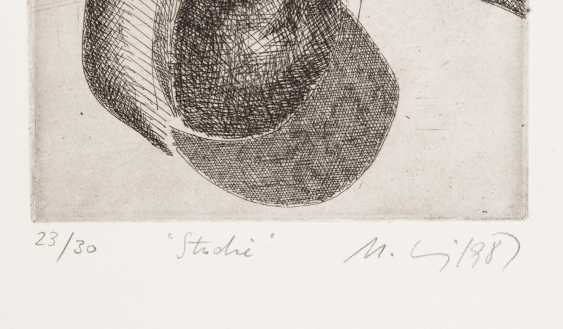 MOHRING, OTTMAR (Stuttgart, 1935-?, Sculptor and graphic artist), 10 etchings, - photo 5