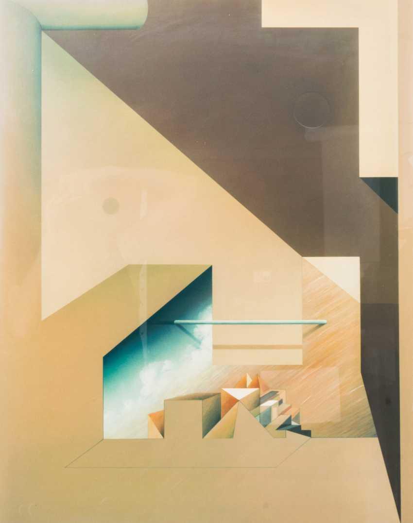 "FÖLLER, PETER (born 1945), triptych ""tide"", - photo 3"