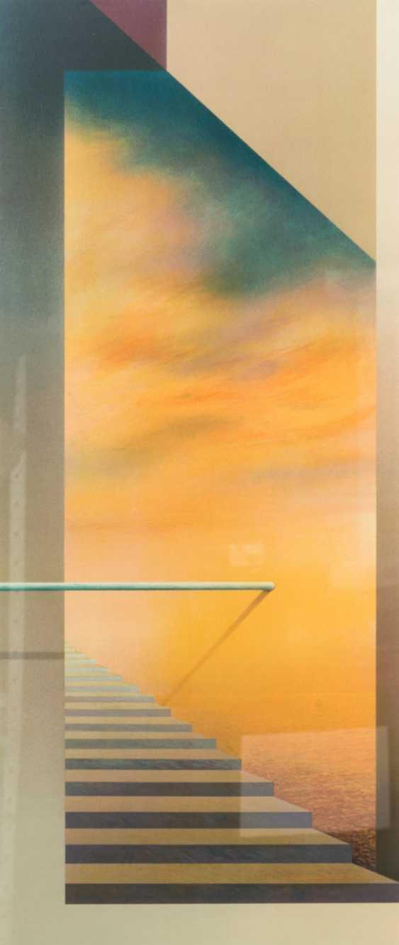 "FÖLLER, PETER (born 1945), triptych ""tide"", - photo 4"