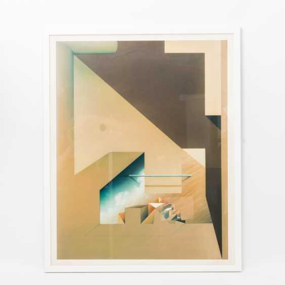 "FÖLLER, PETER (born 1945), triptych ""tide"", - photo 5"