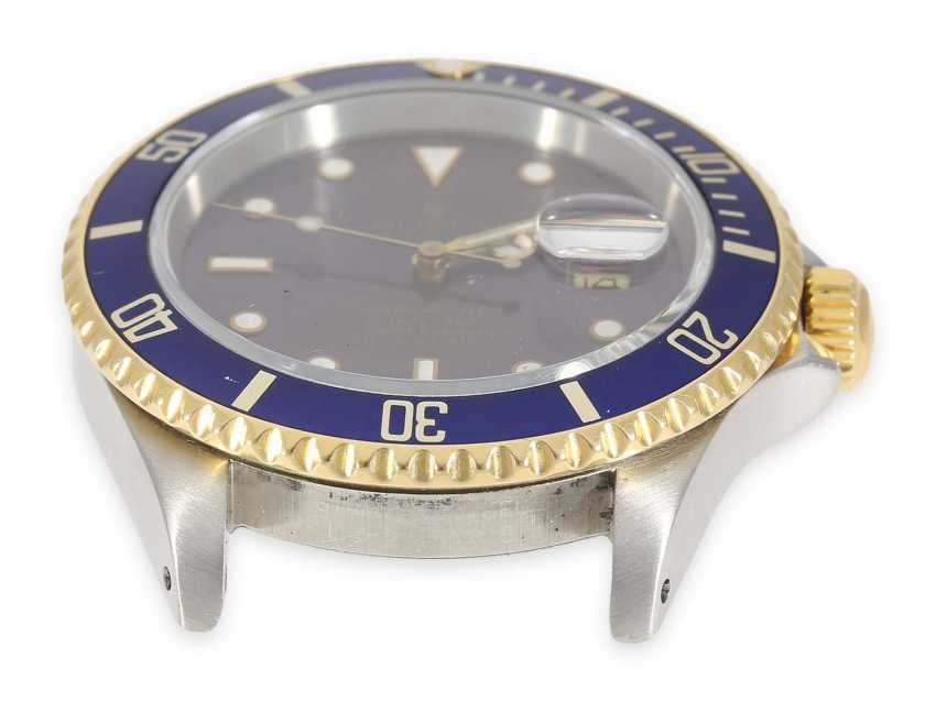 Watch: a vintage Rolex Submariner with a blue dial, Ref. 16613, steel/18K Gold, built in 1989 - photo 7