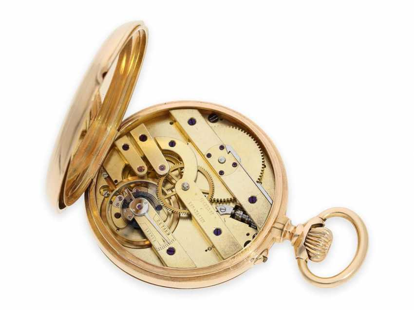 Pocket watch: rarity, early, extremely rare Vacheron & Constantin Pocket chronometers with detent escapement, No. 10661, Geneva, CA. 1880 - photo 2