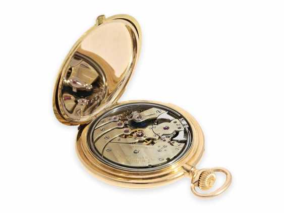Pocket watch: unique Patek Philippe pocket watch with enamelled coat of arms, and a minute repeater, sold to Tiffany in 1901, with Patek Philippe original box and master excerpt from the book - photo 3