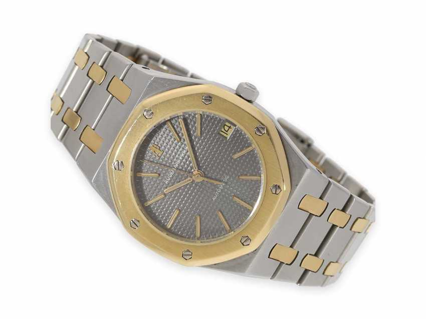 Watch: beautifully preserved, early vintage Audemars Piguet Royal Oak Ref. 4100, 1978, steel/Gold, original papers and service papers - photo 1