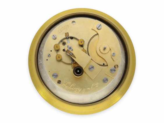 Marine chronometer: high-quality, extremely rare Louis Le Roy Paris marine chronometer with 49h power reserve, No. 1037, CA. 1900 - photo 2