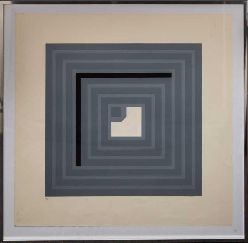 """NEUSEL, GÜNTER (born 1930), """"untitled"""", - photo 2"""