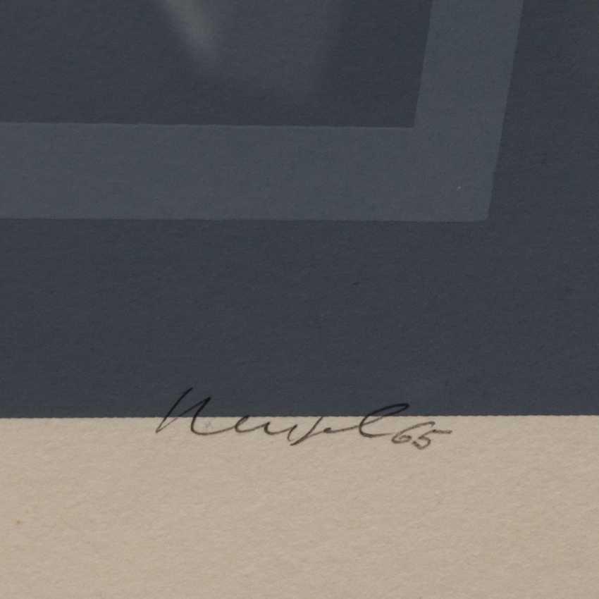 """NEUSEL, GÜNTER (born 1930), """"untitled"""", - photo 3"""