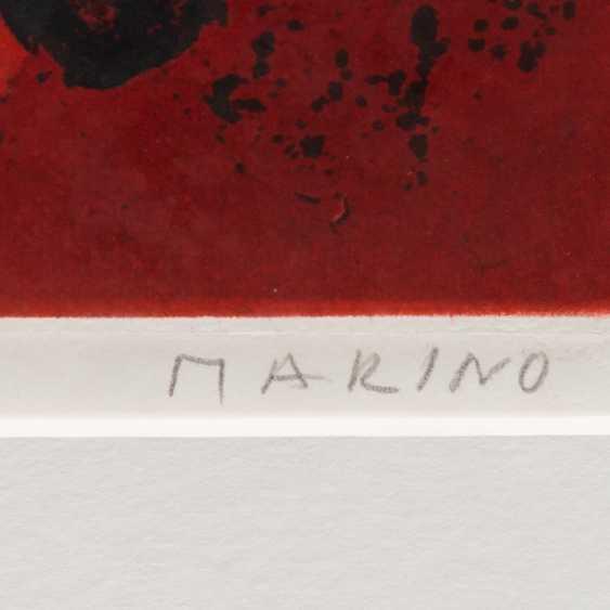 "MARINI, MARINO (Pistoia 1901-1980 ViareGelbgoldio, Italian sculptor, draughtsman and graphic artist), the ""Cavaliere"" - photo 3"