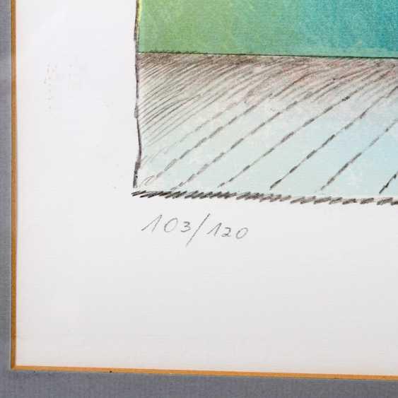 FUCHS, ERNST (1930-2015): Bumenstrauß in Vase, 20. Century, - photo 4