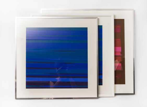 MORISSON PHILIPPE (1924-1994, French artist), 3 serigraphs, - photo 1