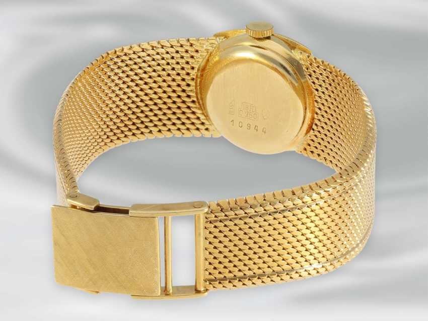 Wrist watch: high quality, rare Golden vintage Automatic ladies watch brand Bucherer, 18K Gold - photo 3