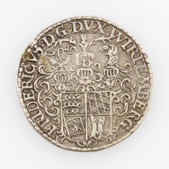 Württemberg, Duchy Of - 1/4 Riksdaler 1606 Yield Christophstal, - photo 2