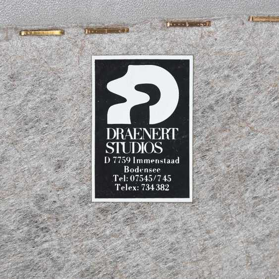 "A ROW OF 8 CHAIRS, ""DRAENERT STUDIOS"" - photo 2"