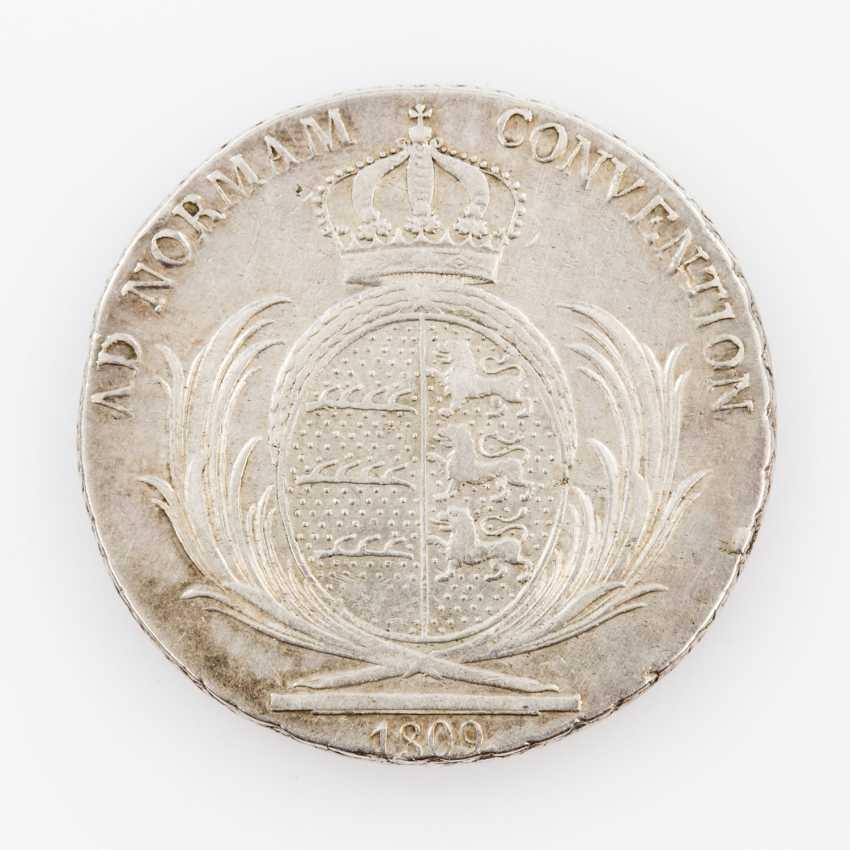 Württemberg, Convention Taler 1809, Friedrich II. (I.), - photo 2