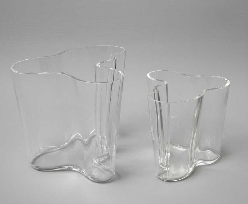 ALVAR AALTO, two vases, design: 1936 - photo 1