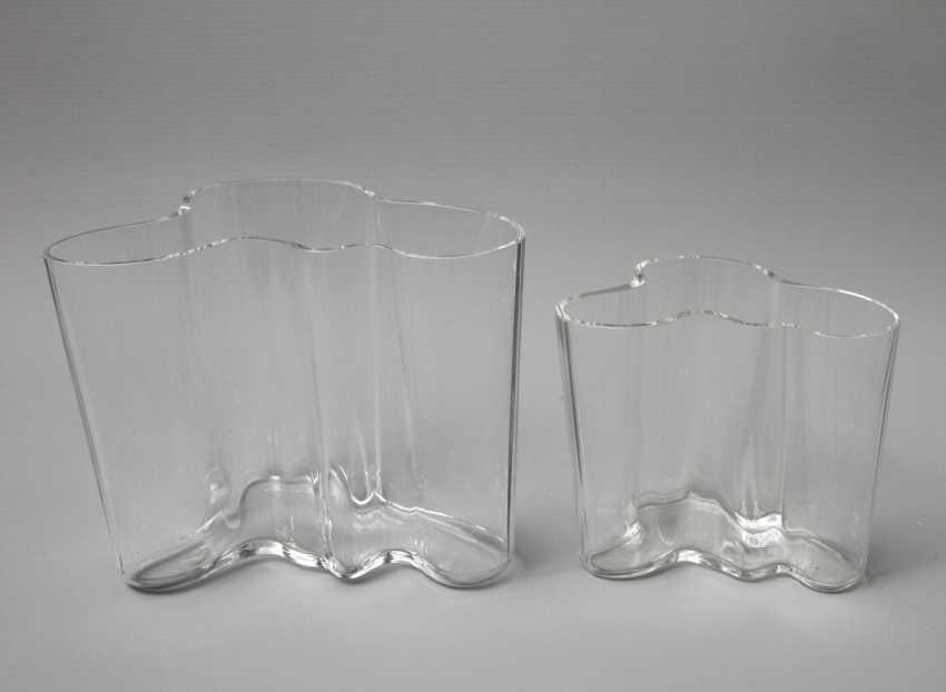 ALVAR AALTO, two vases, design: 1936 - photo 2