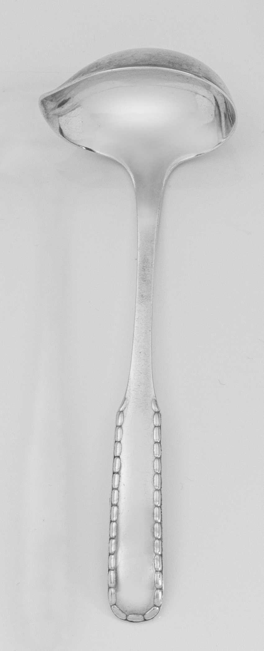 "Georg Jensen-Cream Spoon Of ""Pearl"" - photo 1"