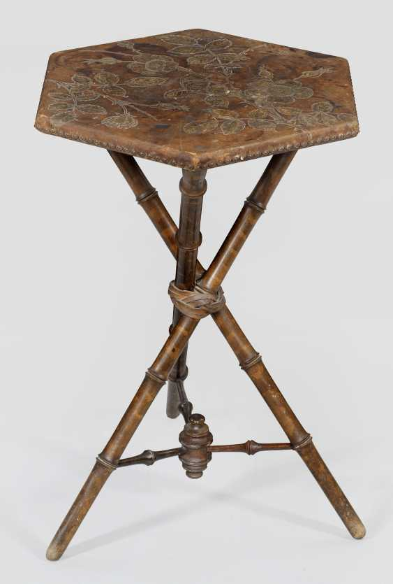 Art Nouveau side table by Georg Hulbe - photo 1