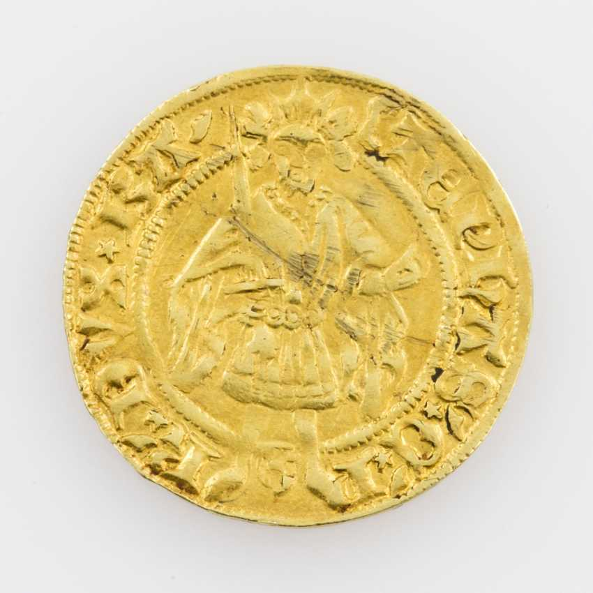 Palatinate-Simmern-Sponheim/Gold - gold Gulden o. J., Stefan, the Zweibrücker (1410-1453), - photo 1