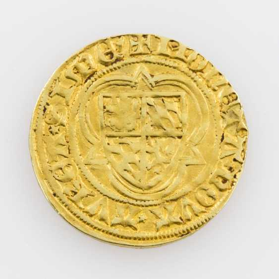 Palatinate-Simmern-Sponheim/Gold - gold Gulden o. J., Stefan, the Zweibrücker (1410-1453), - photo 2