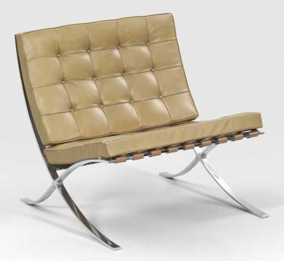 Barcelona chair by Ludwig Mies van der Rohe - photo 1