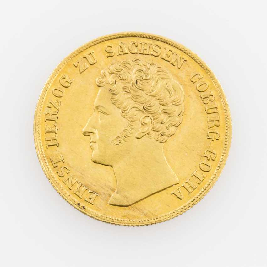 Saxe-Coburg-Gotha - Ernst I, 1806-1844, Ducat 1836, - photo 1