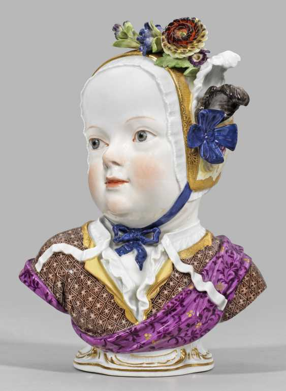 Kinderbüste von Prinz Louis Charles de Bourbon, - photo 1