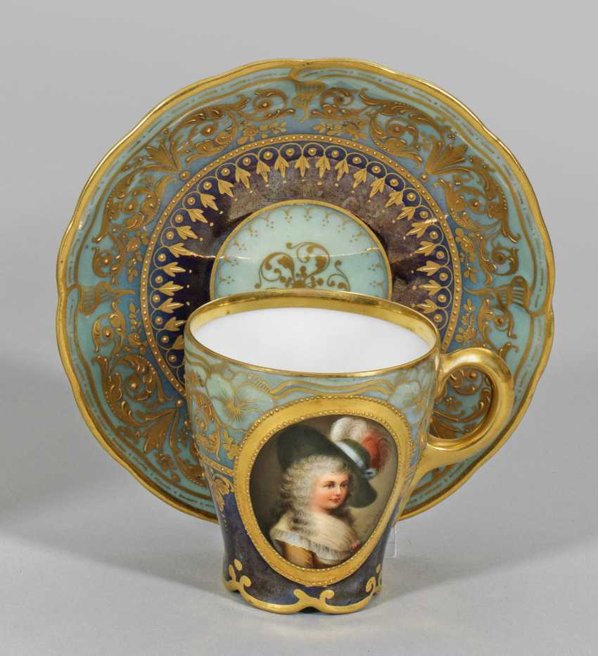 """Portrait Cup """"Duchess of Devonshire"""" - photo 1"""