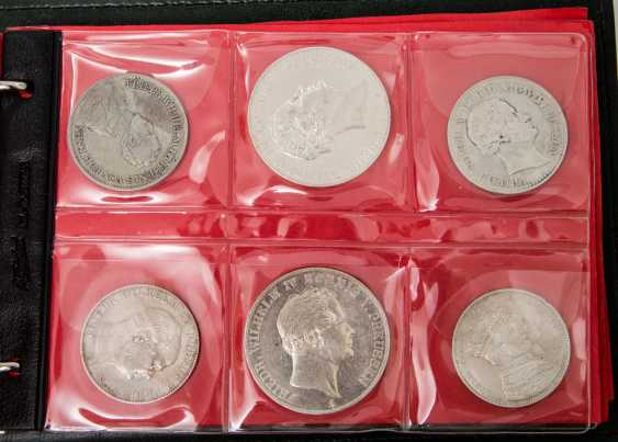Appealing collection part old German States Prussia with - photo 4