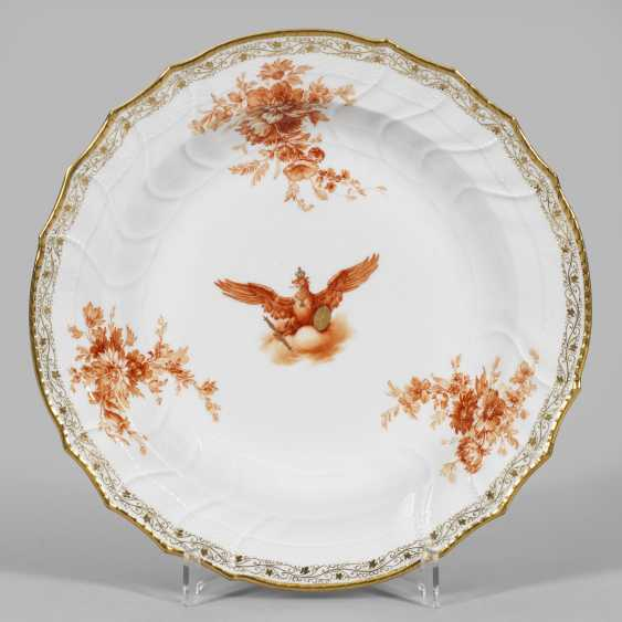 Large bowl with Prussian eagle Kaiser Wilhelm II. - photo 1