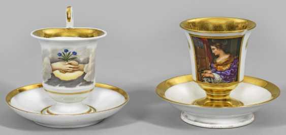 Two Biedermeier Cups - photo 1