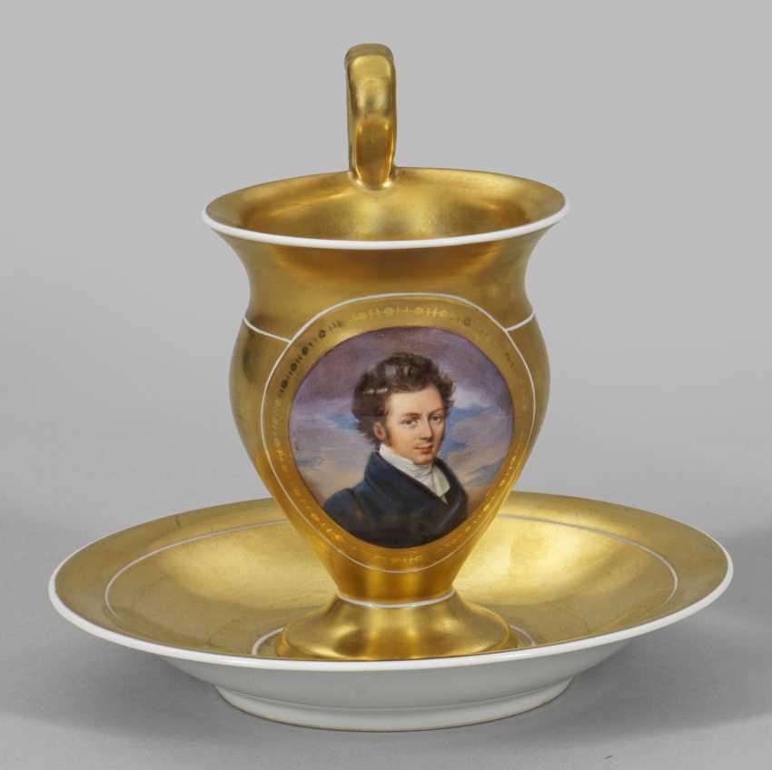 Portrait Cup in the Biedermeier style - photo 1