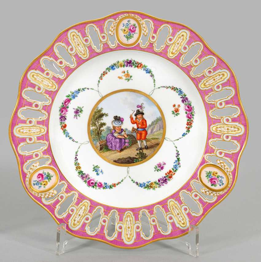 Biedermeier ornamental with a children's motif - photo 1