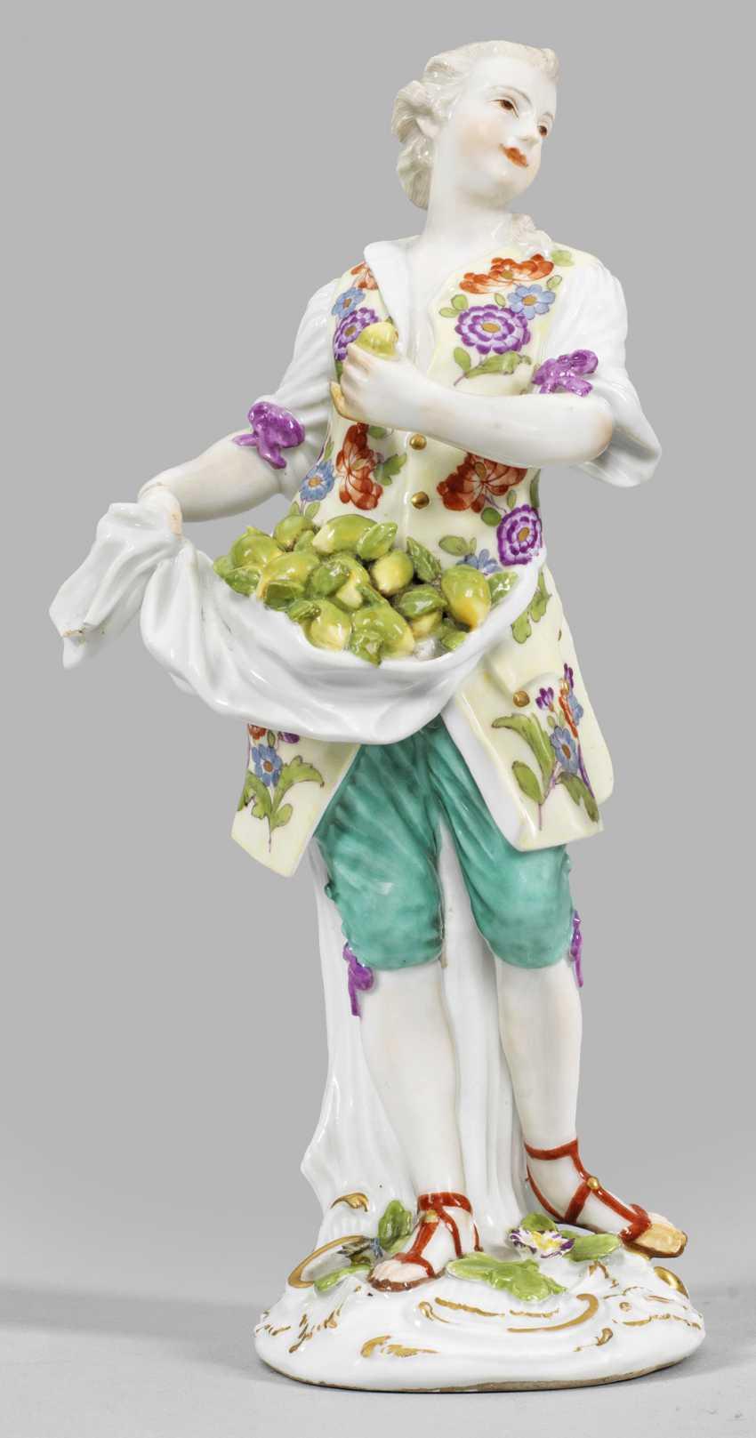 Rare figure of a lemon seller - photo 1