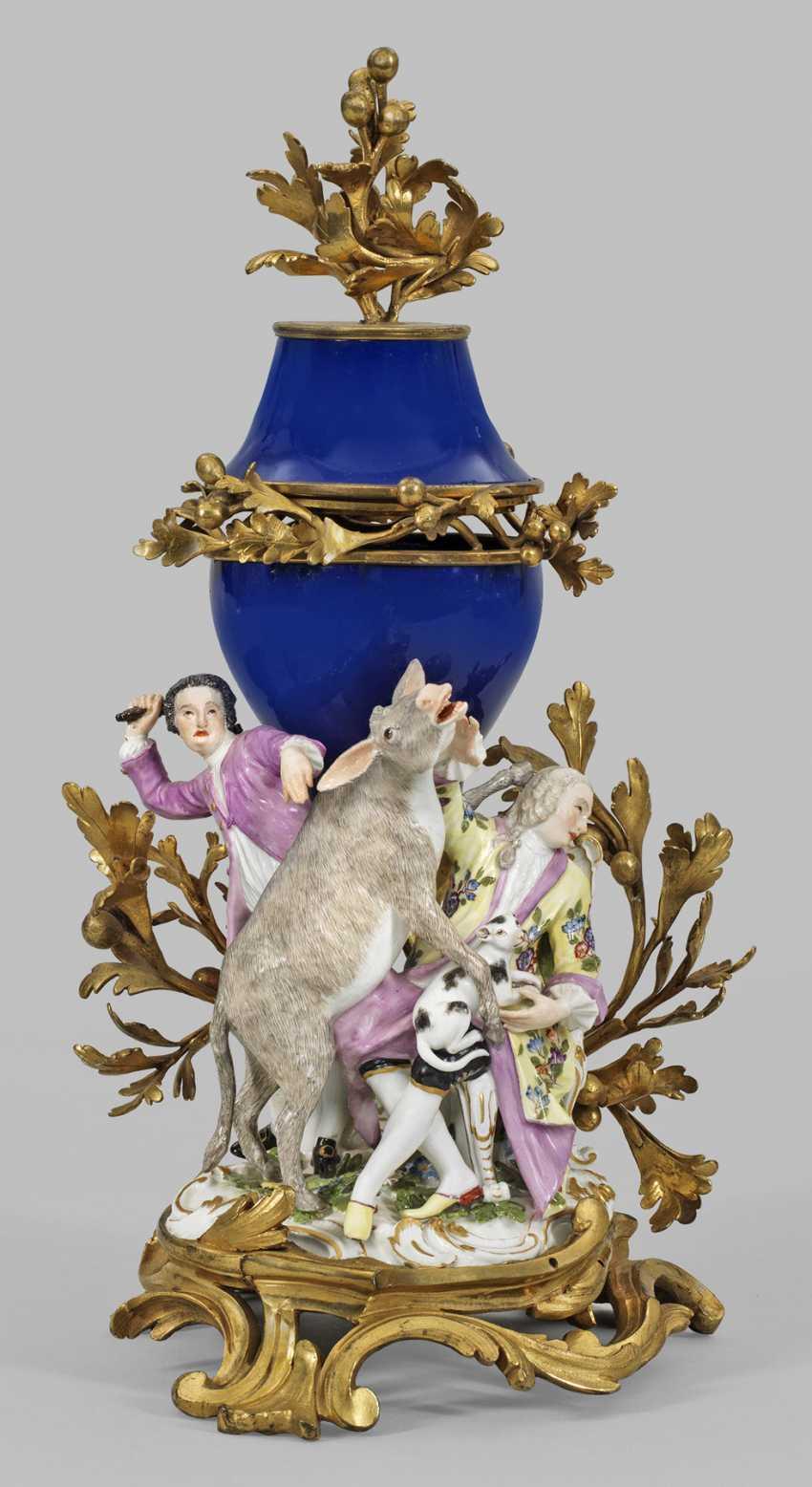 Extremely rare Potpourri-panel decoration with Meissen - photo 1