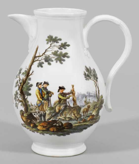 "Extremely rare ""model""jug with hunting scenes - photo 1"