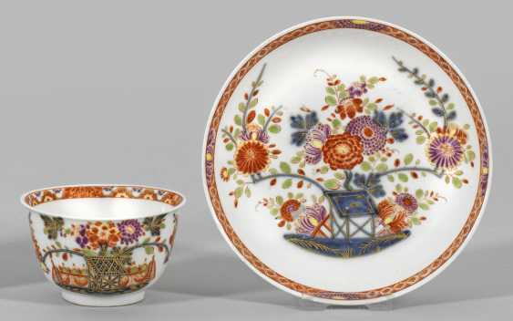 Coupling with table patterns in the Imari style - photo 1
