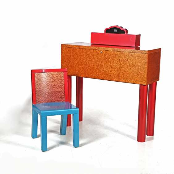 SOTTSASS, ETTORE & ZANUSO, MARCO, DESK, DANUBE, DESK AND CHAIR - photo 2
