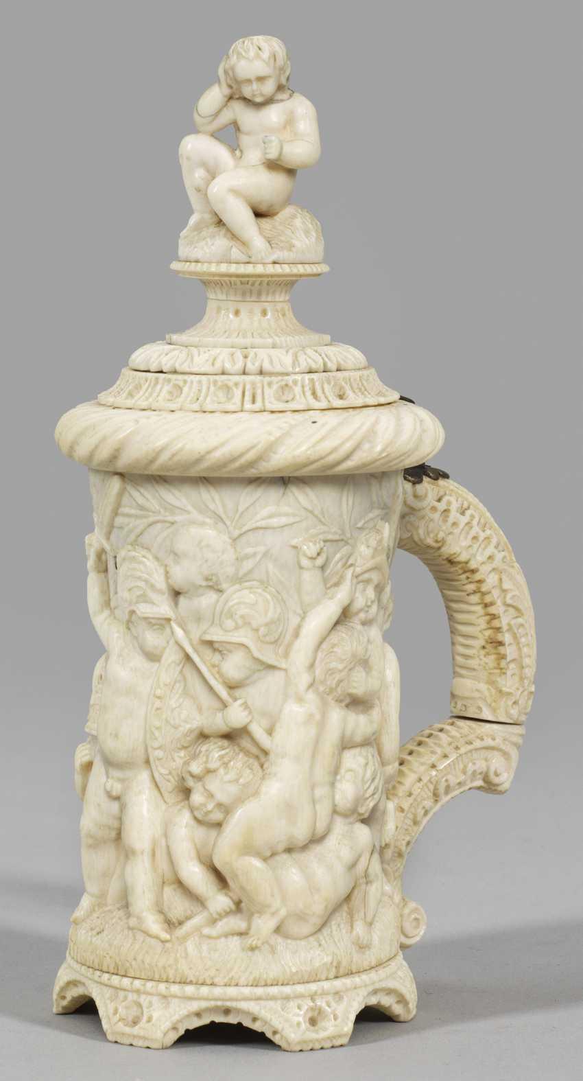 Small Ivory Tankard - photo 1
