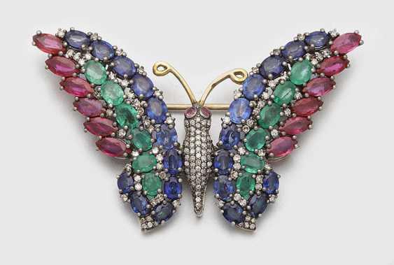 Russian Butterfly Brooch - photo 1