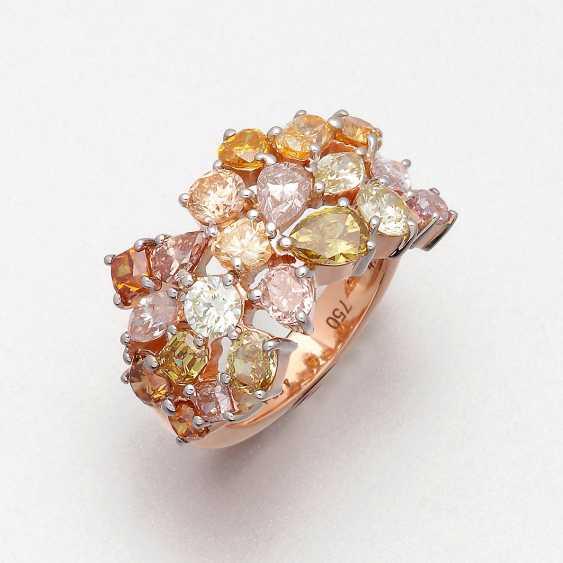 Extravaganter Natural Fancy-Diamantring - photo 1