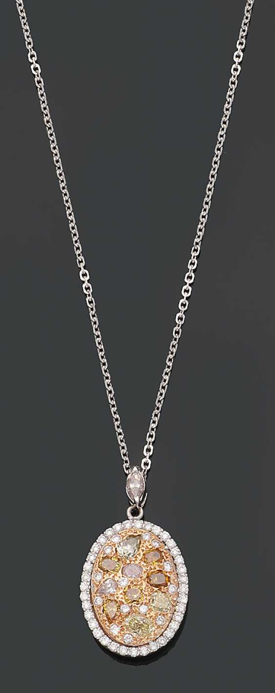 Extravaganter Fancy-Diamantanhänger - photo 1