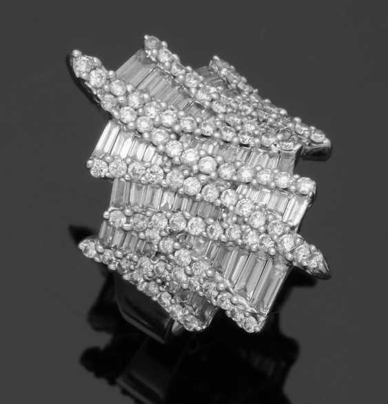Extravaganter Diamantring - photo 1